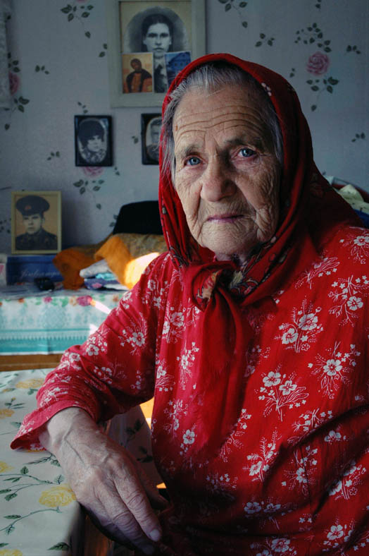 Babushka Nastya buried her son just a month ago, her other children live far from Kenozero so she feels alone and tired, as if she had been alive too long.