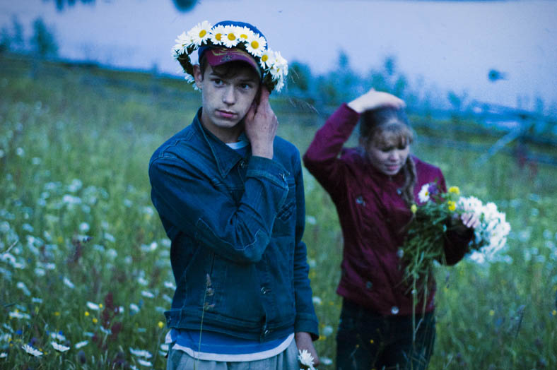 Dmitry and his sister are picking up flowers at night on the Eve of Ivan Kupala, according to the old pagan rite. They say if you wish something that night it will come true. Dmitry dreams of learning to play the guitar. He wished for it that night.