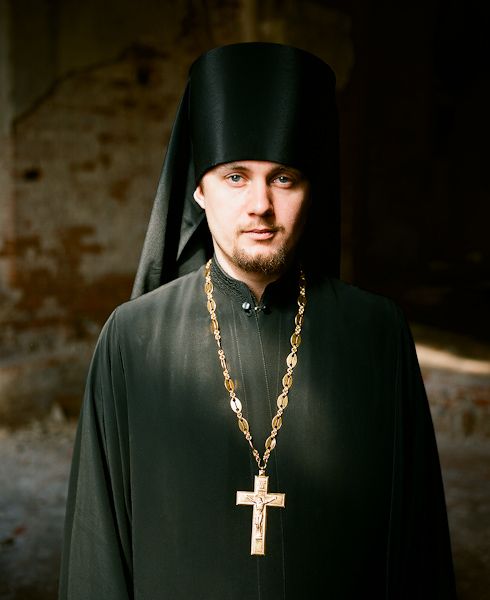 Father Nikodim, 25, Dean of the Transfiguration Monastery in Belev, Tula region, 2010