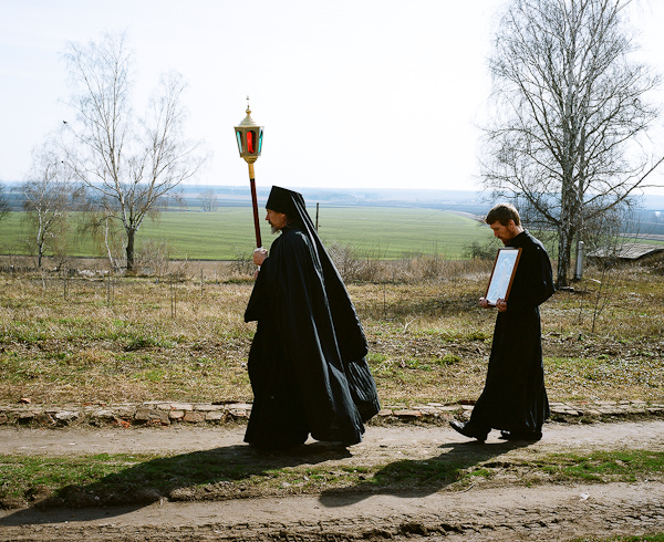 Crucession at the Transfiguration Monastery in Belev, Tula region, 2010