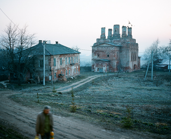 View of the monastery in Belev, Tula region, 2010