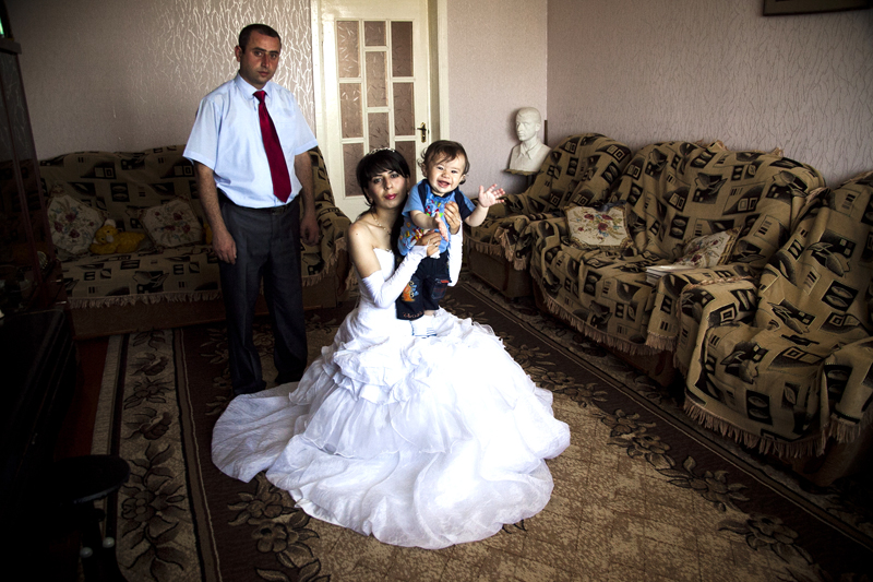 2011. Shushi. Arevik Ohanyan, 24, and Erik Ohanyan, 27, are expecting their second child. Their first, Mher, is 1 year old.
