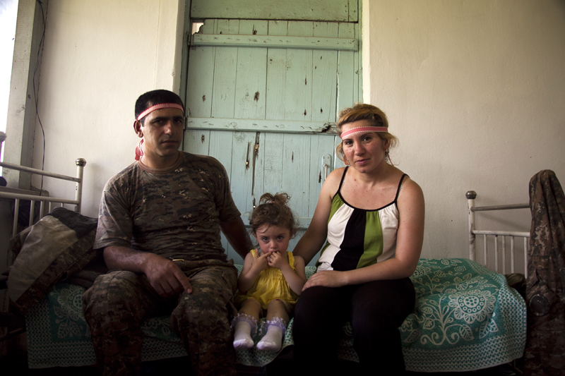 2011. Village of Aygestan. Susanna Danielyan, 31, and Arayik Hayrapetyan, 33, have a 2 year old daughter. In the morning Susanna visited the doctor – her 2 months pregnancy is progressing normally.
